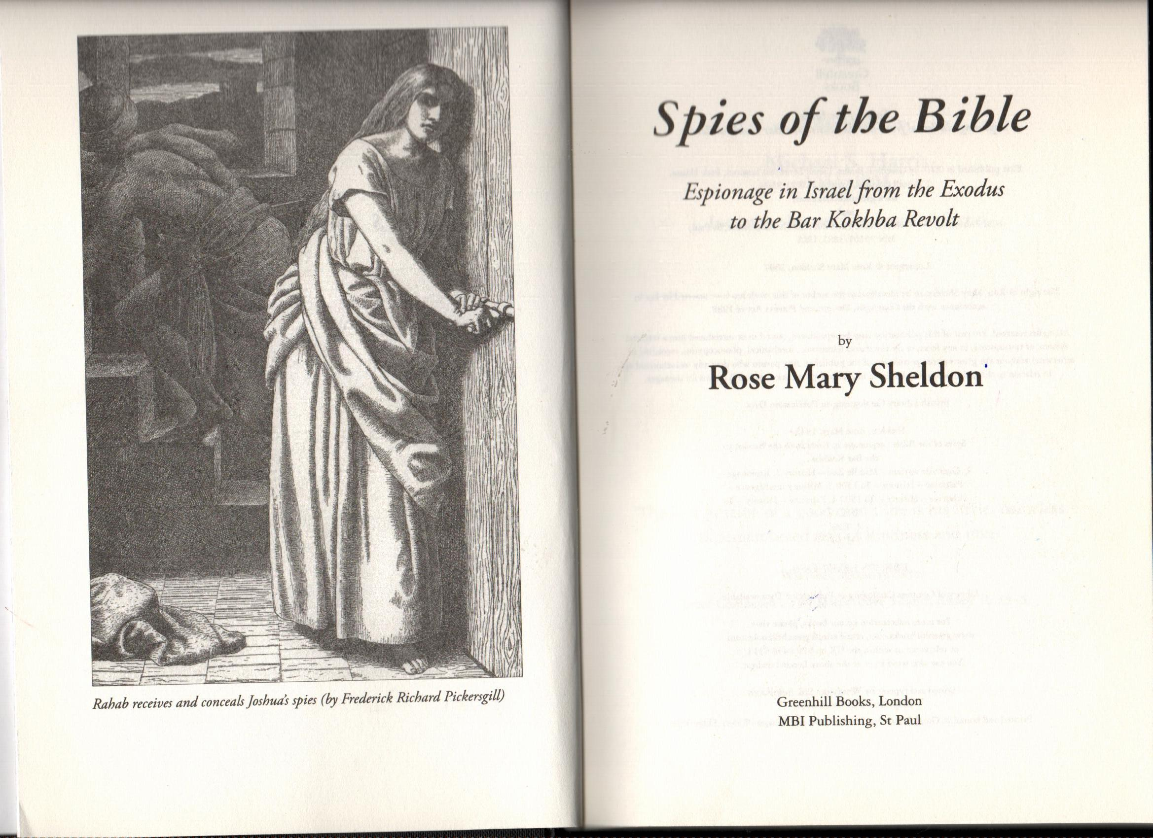 spies of the bible - 3