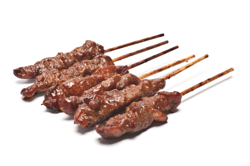 Meat Kebabs or Skewers