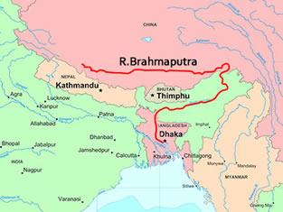 brahmaputra river -