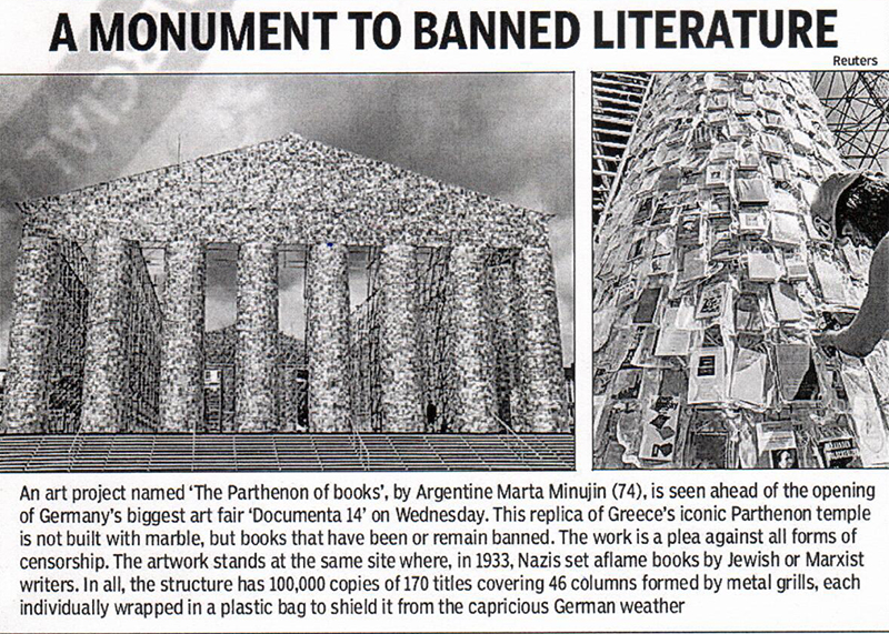 banned books monument