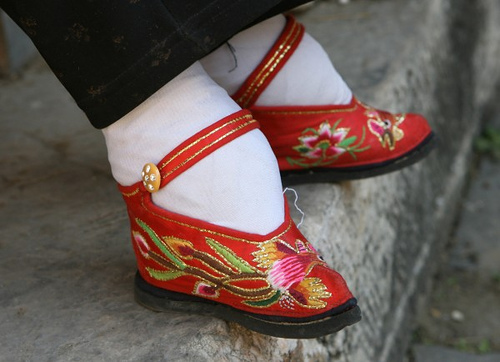chinese foot binding one