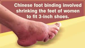 chinese foot binding two