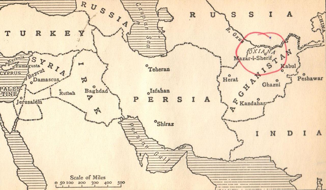 oxiana map copy