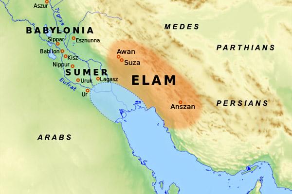 Elam-map