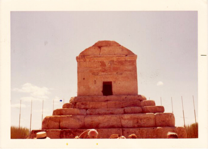 The tomb of Cyrus the Great at Pasargadae, his capital