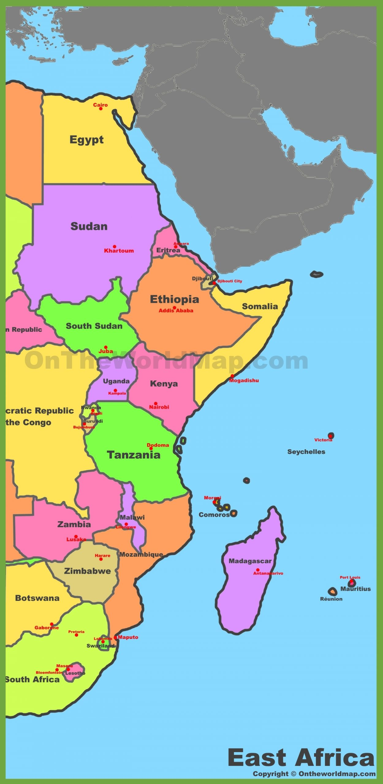 map-of-east-africa