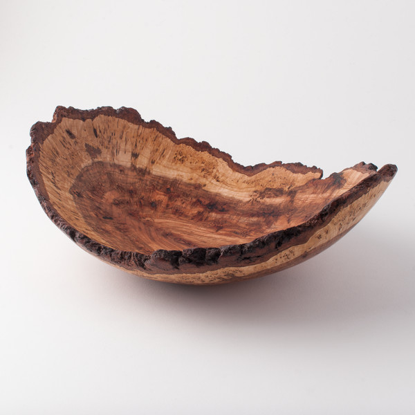 single wood bowl