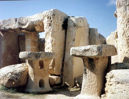 malta stone altar