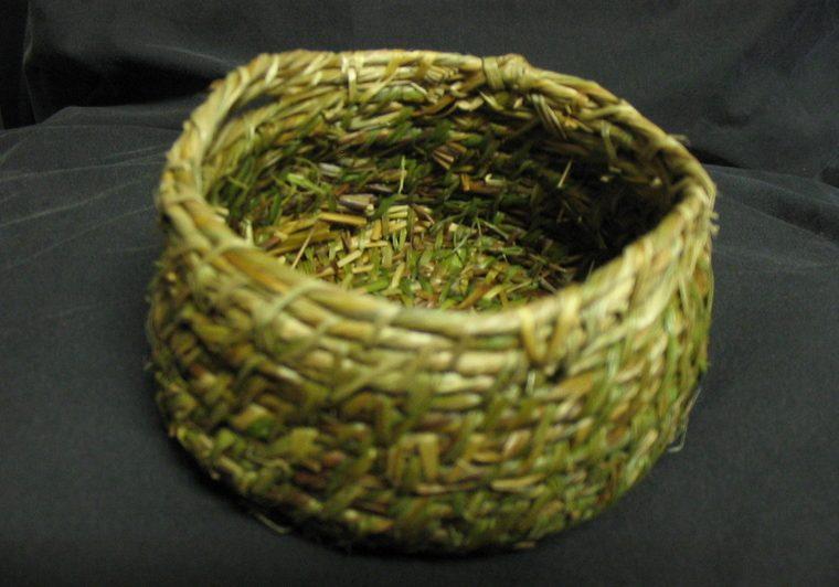 paleo grass basket